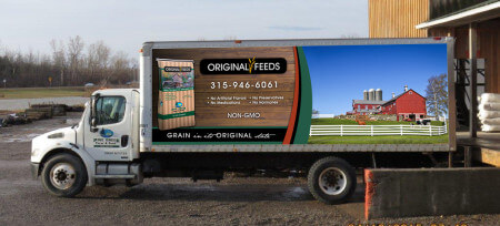 Original Feeds delivery truck